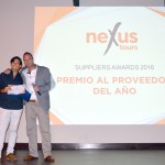 Dolphin Discovery wins as Supplier of the Year in the Suppliers Awards 2016 from NexusTours, in Cancun, Mexico.