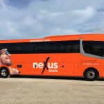 Nexus Fleet ofrece cinco diferentes tipos de transporte: autobuses turísticos, minibuses, vehículos de lujo, transportes VIP, y servicios de transportación accesible.